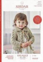 Sirdar Snuggly Bouclette Knitting Pattern Booklet - 5313 Cardigans